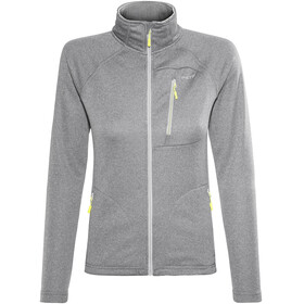 Meru Cannes Fleece Jacket Women Light Grey